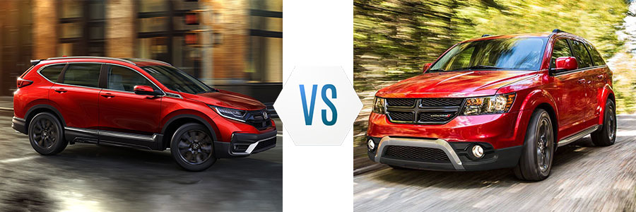 2020 Honda CR-V vs Dodge Journey