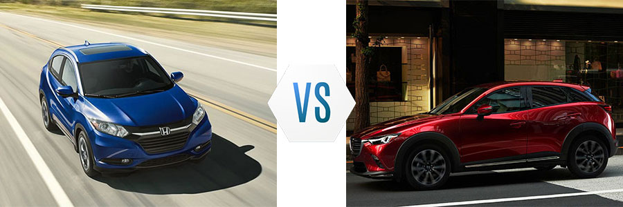 2018 Honda HR-V vs Mazda CX-3