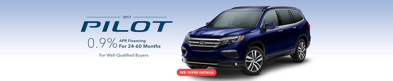 2018 Honda Pilot Current Offer