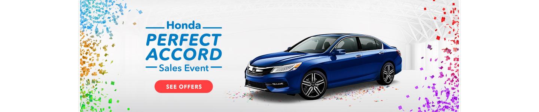 Honda Accord Sale Event