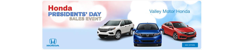 Honda Presidents Day