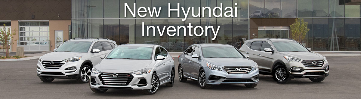 New Hyundai Inventory