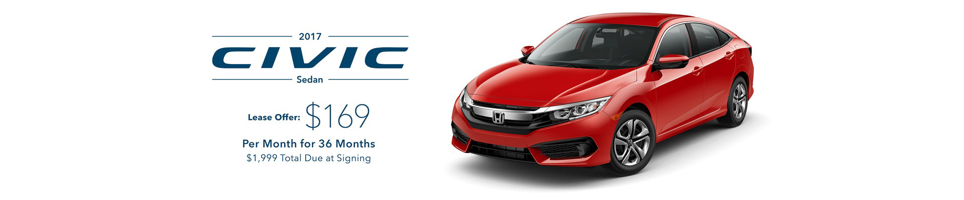 Summerbration Sales Event Civic Offer